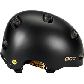 POC Crane MIPS Fabio Edition Helmet, uranium black matt/gold